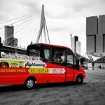 Sightseeing Rotterdam - Splashtours - cabrio bus - arrangementen - arrangments